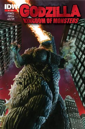 Godzilla 2ndprintMOCK New Godzilla Comic Sells Out In 1 Day