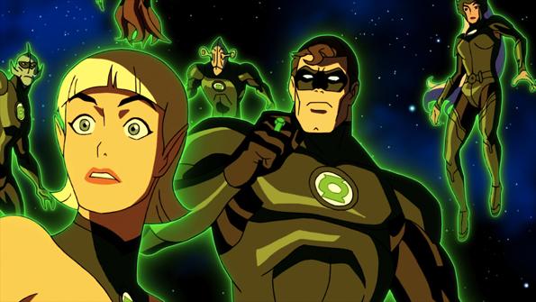 Green Lantern Emerald Knights 3 Green Lantern Day At WonderCon With Ryan Reynolds