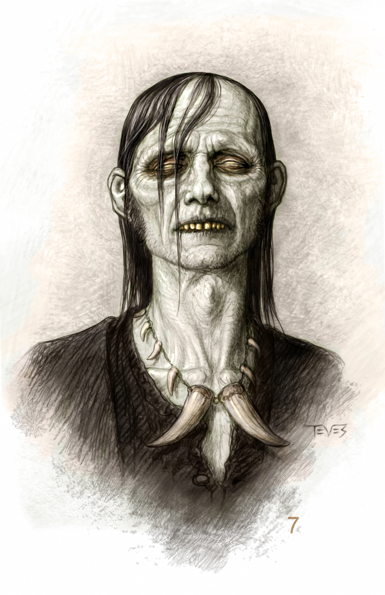 Zombie 07 POTC: On Stranger Tides Zombie Concept Art