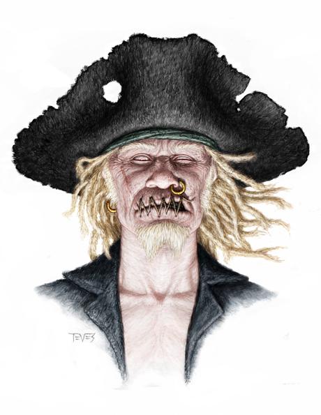 Zombie 10 POTC: On Stranger Tides Zombie Concept Art