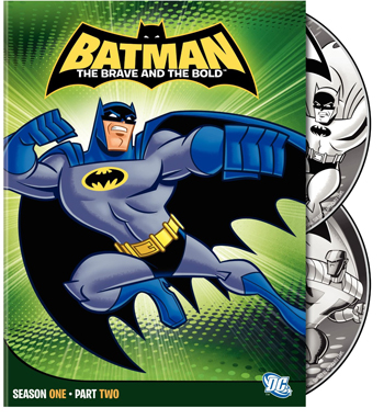 batmanbb DVD Review   Batman: The Brave And The Bold Season One Part Two