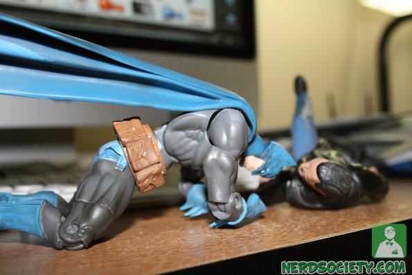 seagal 1 Action Figure Fight: Seagal Vs Batman