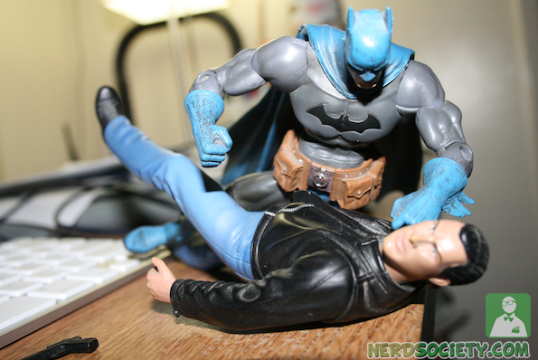 seagal 4 Action Figure Fight: Seagal Vs Batman