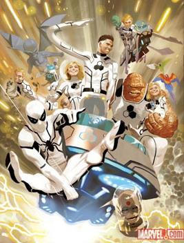 spider manffcover Spider Man Joins Fantastic Four