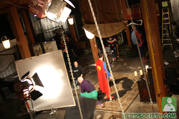 vivid shoot 51 NSFW:  Behind The Scenes Of Vivids SuperXXXHeroes Parody