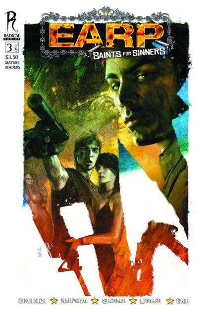 EarpSaintsForSinners3 Comic Review   EARP: Saint For Sinners #3