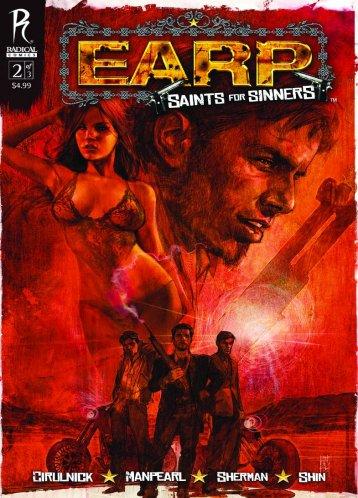 earp Comic Review: Earp   Saint For Sinners #2
