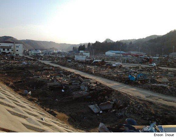 enson earthquake2 MMA: Enson Inoue Helps Japan