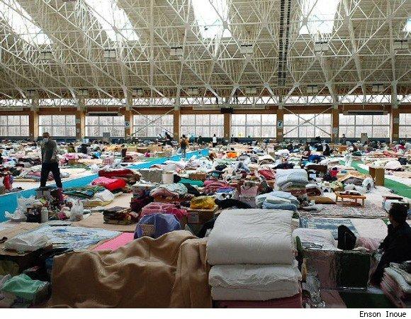 enson earthquake3 MMA: Enson Inoue Helps Japan