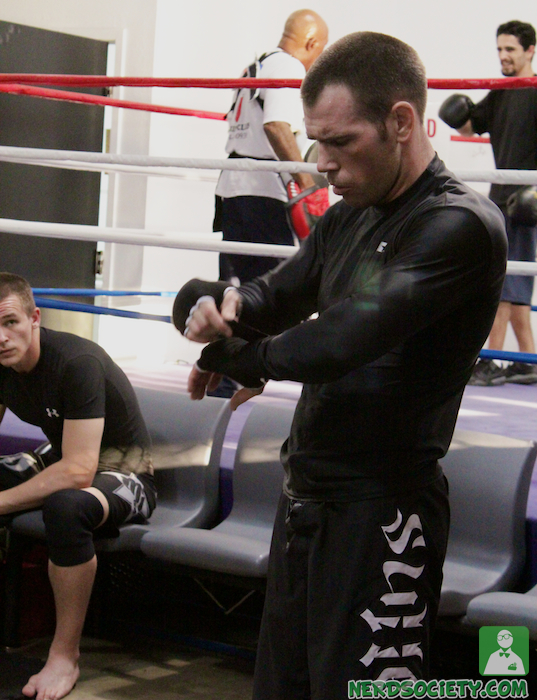 randy henry 4 De La O Fight Camp For Long Beach Fight Night