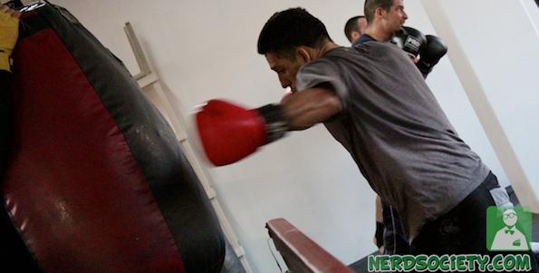 randy henry 6 De La O Fight Camp For Long Beach Fight Night