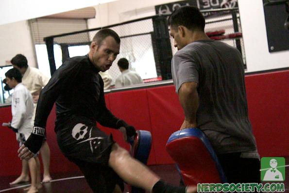 randy henry 7 De La O Fight Camp For Long Beach Fight Night