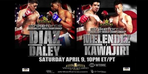strikeforce diaz daley MMA Predictions: STRIKEFORCE   Daley vs. Diaz