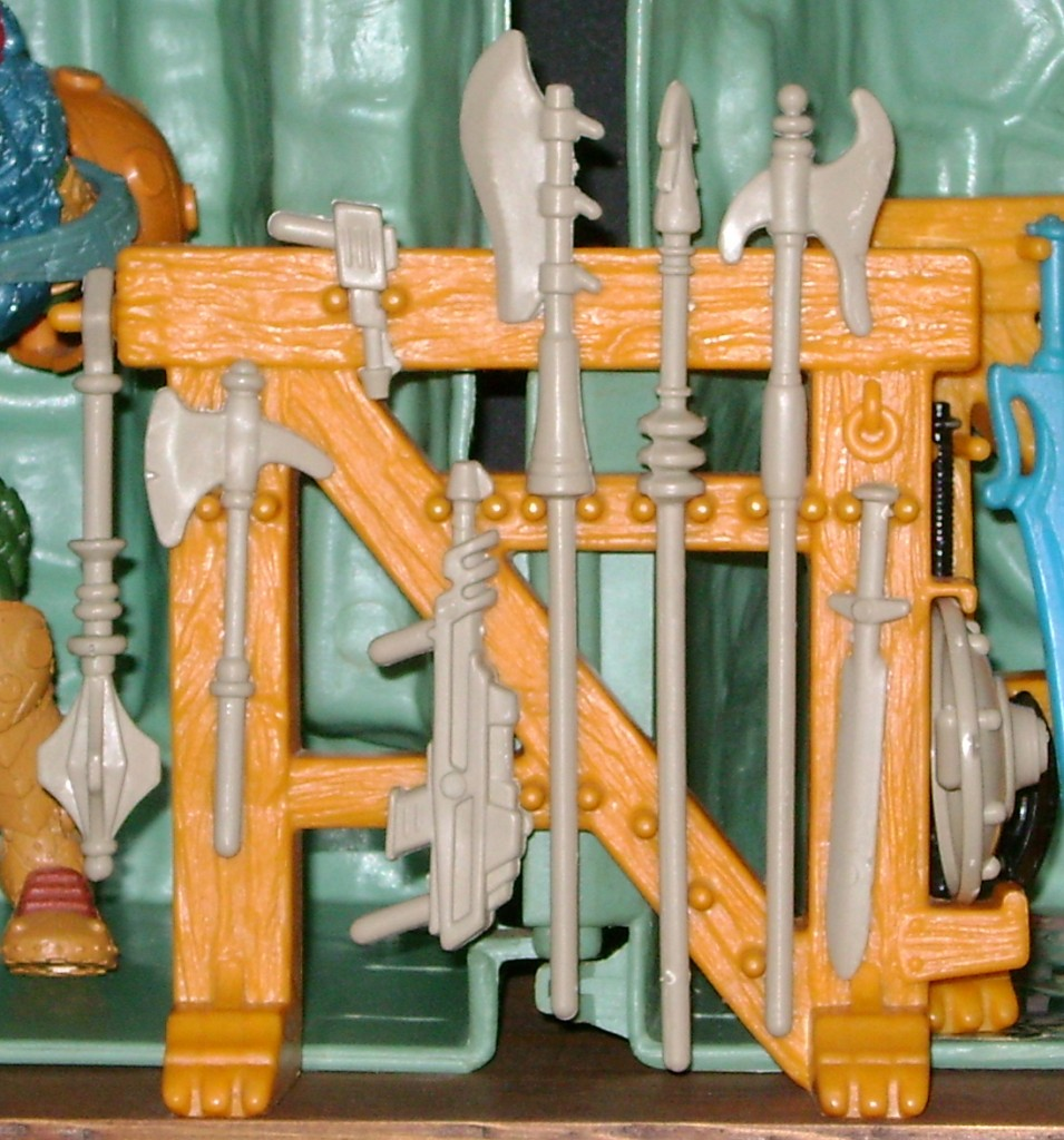 CG Weapons Rack 955x1024 Castle Grayskull Restored To All Its Glory!