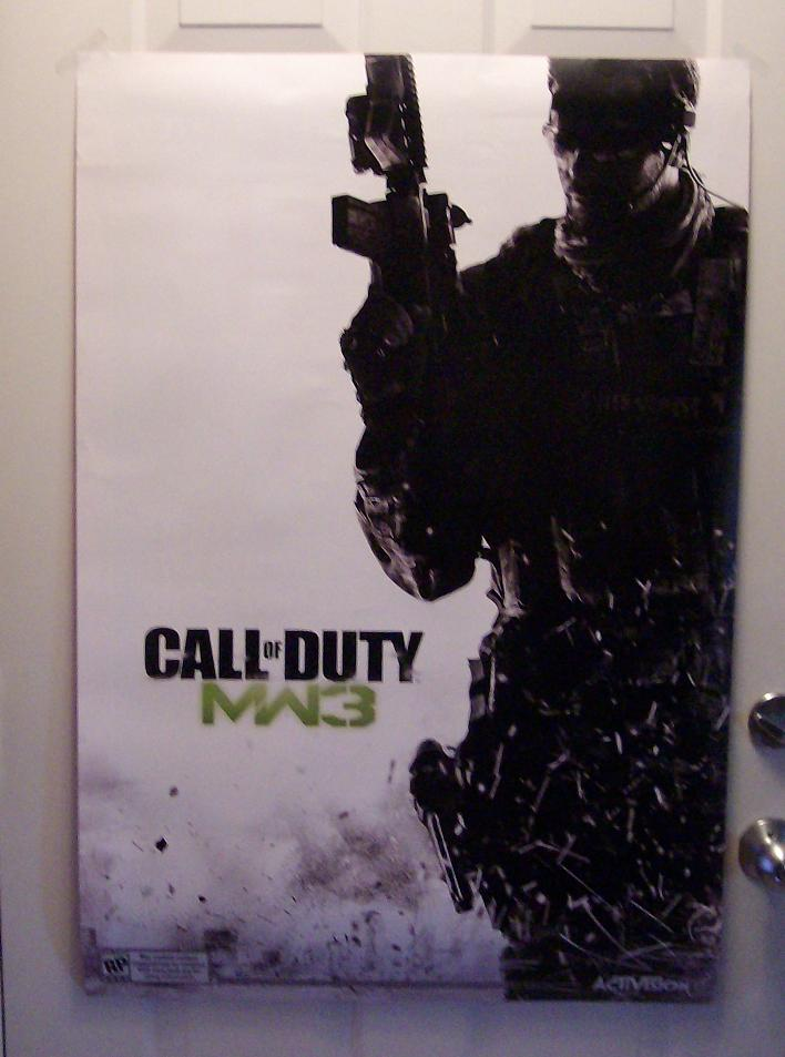 MW3sideB Cool COD: MW 3 Magazine Cover Poster Reveals More Plot
