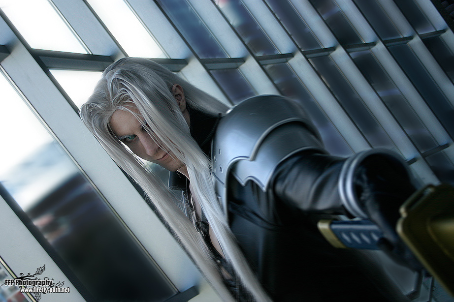 Sephiroth Cosplay by Lillyxandra Inspiring and Artistic Cosplay Photography