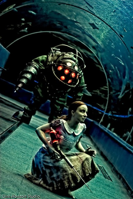 bioshock Inspiring and Artistic Cosplay Photography
