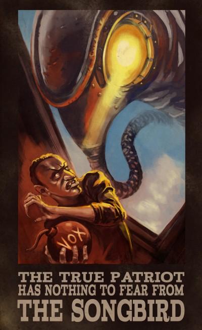 bioshock3 b BioShock Infinite Cool Propaganda Art