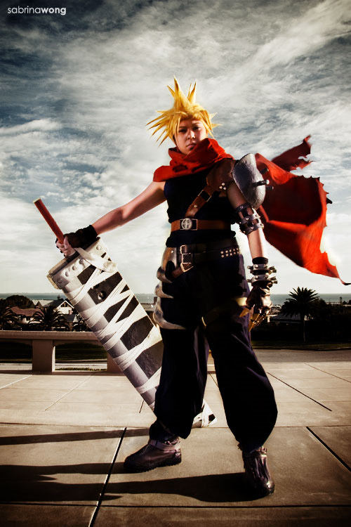 cos13 cloud kingdom hearts cosplay Inspiring and Artistic Cosplay Photography