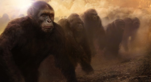 pota3 Cool Concept Art: Planet of The Apes
