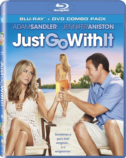 Just Go With It Cover Blu ray Review: Just Go With It (Adam Sandler)