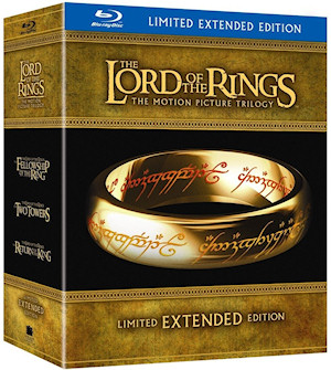 Lord of the Rings Extended Edition Blu ray Unboxing LOTR: EE Blu Ray & Green Tint Issue