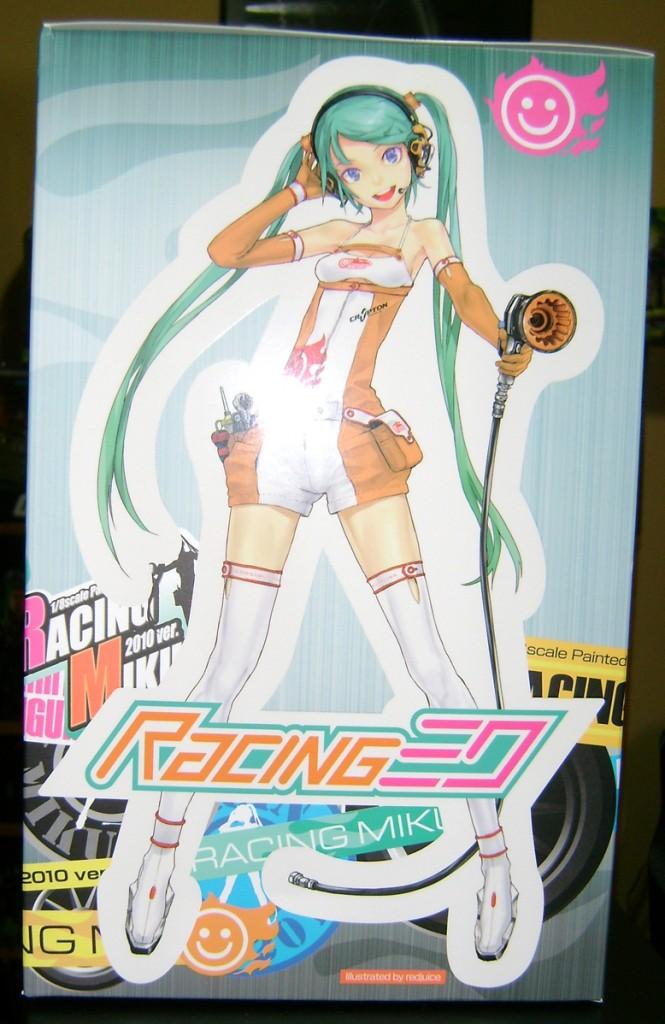 RcMiku 3 665x1024 Totally Bitchin Statue: Racing Miku!
