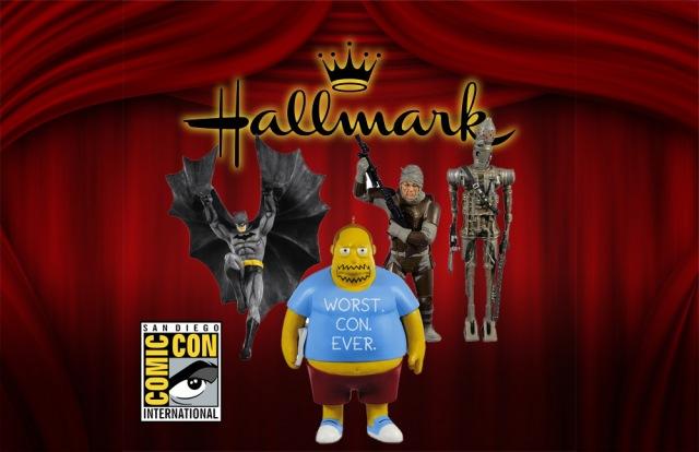 hallmark comic con 2011 Hallmark SDCC Includes Batman