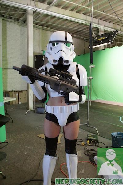 starwars parody 1 NSFW   Star Wars XXX: A Porn Parody Set Visit With Allie Haze
