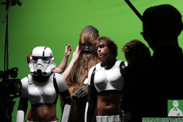 starwars parody 11 NSFW   Star Wars XXX: A Porn Parody Set Visit With Allie Haze