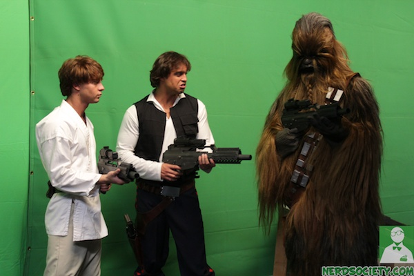 starwars parody 12 NSFW   Star Wars XXX: A Porn Parody Set Visit With Allie Haze