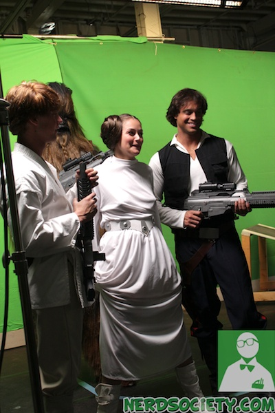 starwars parody 13 NSFW   Star Wars XXX: A Porn Parody Set Visit With Allie Haze