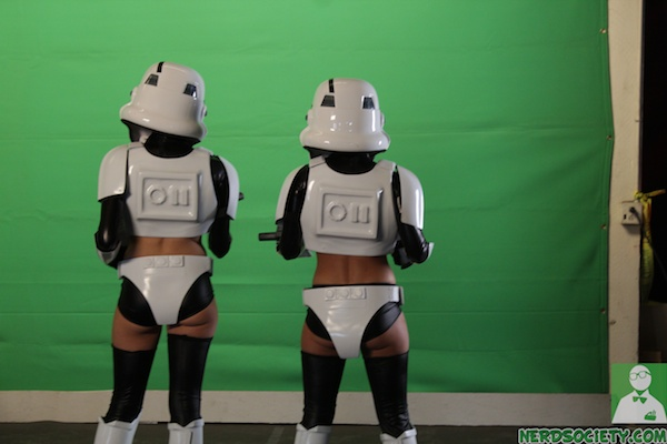 starwars parody 3 NSFW   Star Wars XXX: A Porn Parody Set Visit With Allie Haze