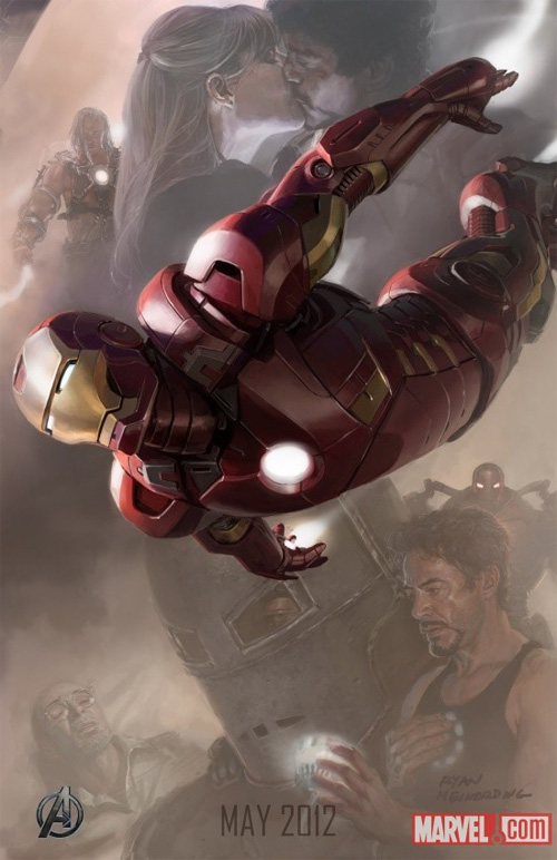 9276b Avengers Character Posters