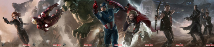 AvengersAssemblePoster Avengers Character Posters