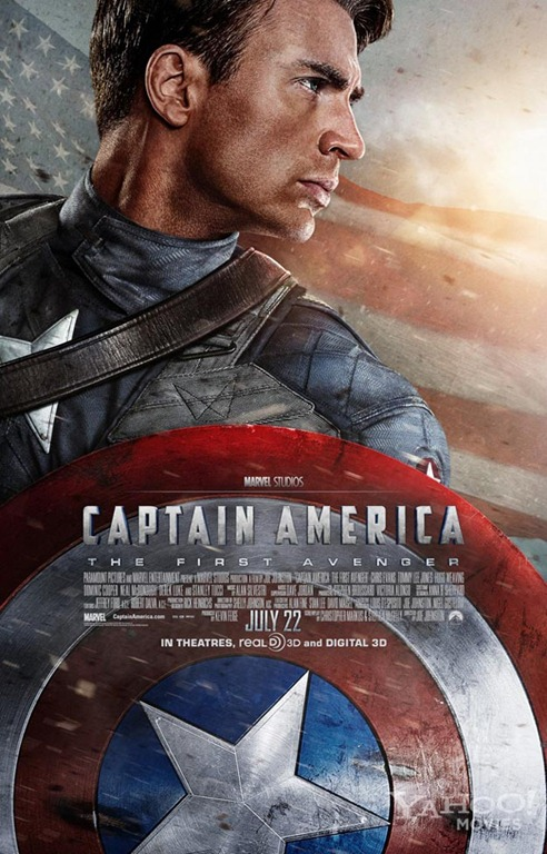 Captain America Poster Movie Review: Captain America: The First Avenger