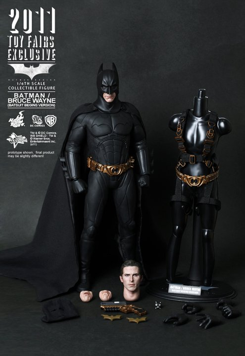 bb hottoys Hot Toys Batman Begins Comic Con Exclusive