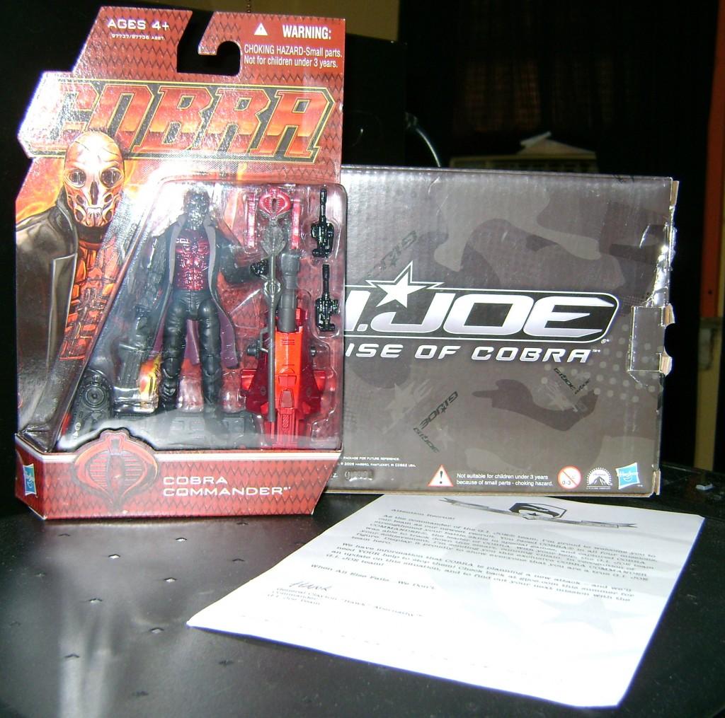 cc1 1024x1015 Cobra Commander: Cancelled Mail Away!