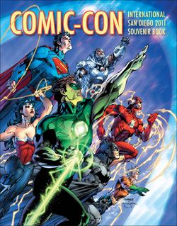 sdcc jimlee SDCC: Free Swag Courtesy Of WB & DC
