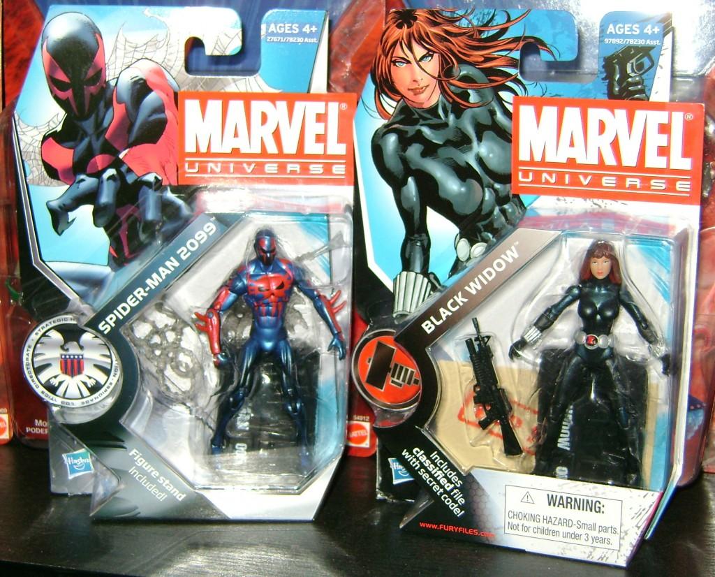 spi2099 bwidow1 1024x826 Marvel Universe: Spiderman 2099 and Black Widow!