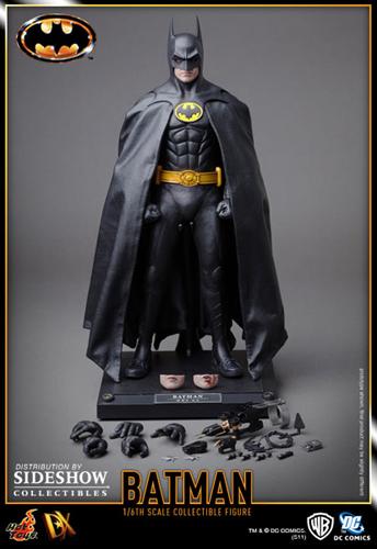 HT Batman DX Batman l Hot Toys 1989 Batman