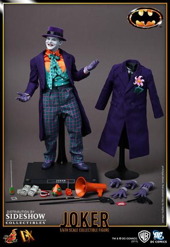 HT Batman DX Joker l1 Hot Toys 1989 Batman