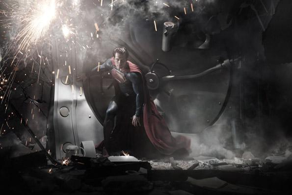 manofsteel 2 Superman Costume Revealed For Man Of Steel   Hi Res