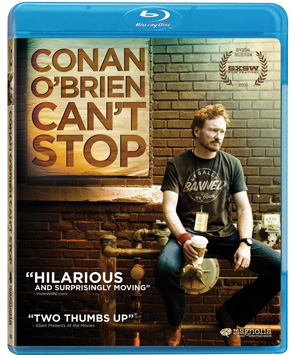 cantstop Blu Ray Review: Conan OBrien Cant Stop