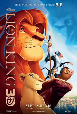 lionking3d Lion King 3 D In Theaters Today
