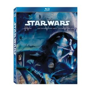 sw bluray Blu Ray Star Wars Set For $30