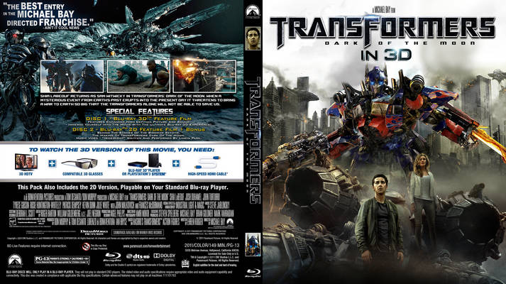 tf3 Transformers 3 To Be Released on Blu Ray 9/30 Without 3D?