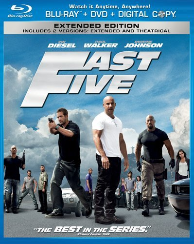 Fast Five Blu ray Review: Fast Five
