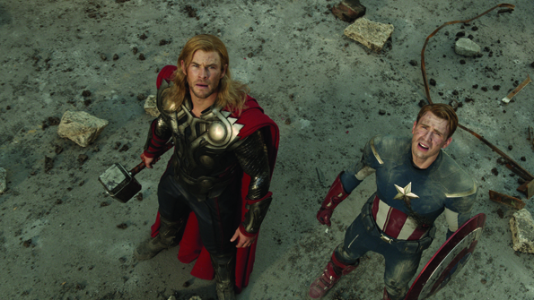 avengers1 New Pics From Avengers Movie