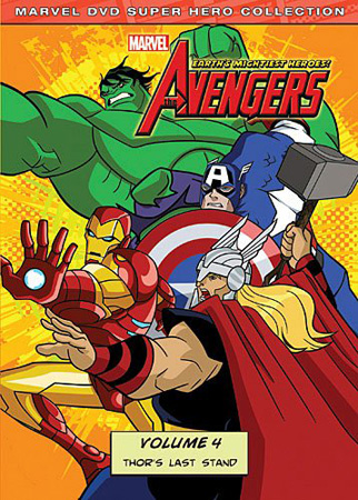 avengers4 DVD Review:  The Avengers: Earths Mightiest Heroes Vol. 4
